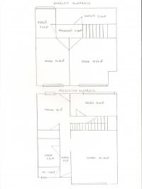 Budaörs eladó családi ház központ 102m2 2+2 fél szobás kétszintes sorházi ingatlan hirdetéshez feltöltött kép