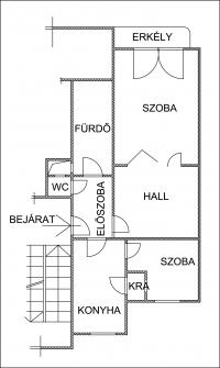 Budapest XIII. kerület kiadó lakás 56m2 1+1 szoba Szent István Park ingatlan hirdetéshez feltöltött kép