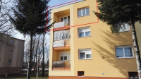 Csorna eladó lakás 61m2 2+1 szoba a Petőfi lakótelepen második emeleti ingatlan hirdetéshez feltöltött kép