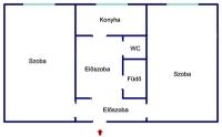 Budapest III. ker. Békásmegyer Kabar utca, 10 szintes épület 51m2 lakás eladó ingatlan hirdetéshez feltöltött kép